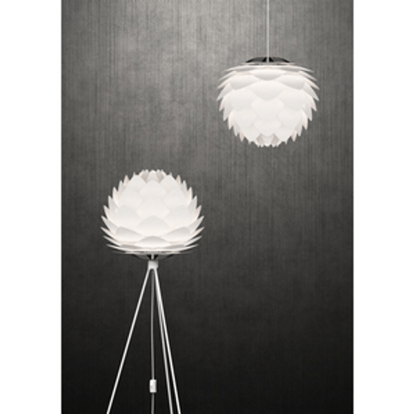 Vita tripod matt white , lange ben til lampe