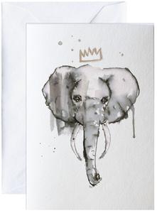 Bilde av Elise Stalder, kort Elefant