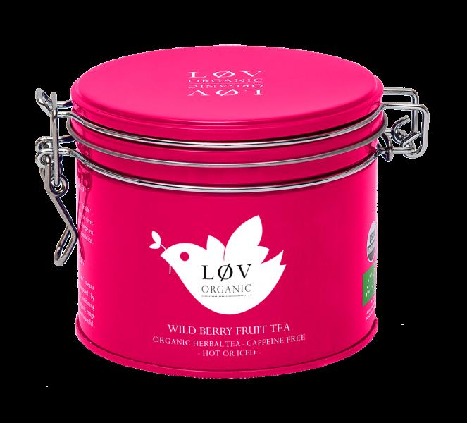 LØV organic, wild berry fruit tea