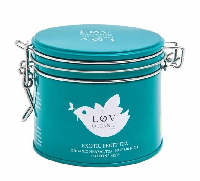 LØV organic, exotic fruit tea