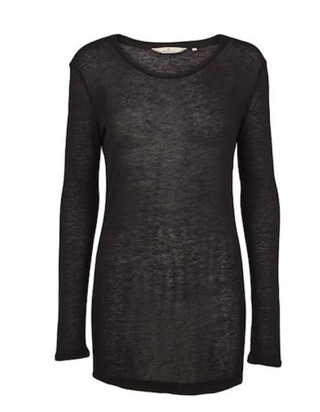Basic apparel,  Sia long sleeve svart