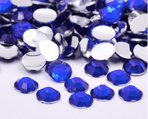 Bilde av Rhinestones, 1000 stk blue