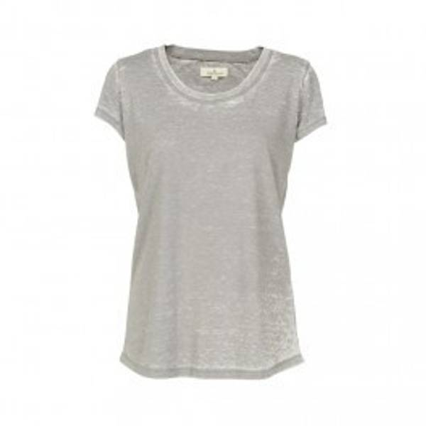 Basic apparel, Rebekka t-skjorte frost grey
